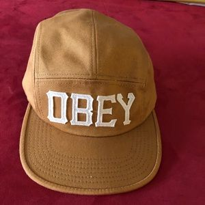Obey 5 Panel Cap- OS